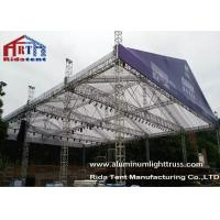 Quality Black Color Outdoor Dj Truss Tower Lightweight Truss System High Loading Capacity for sale