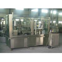 Quality Adjustable Sparkling Water PET Can Filling Machine Industrial Line 2000 Cans / Hour for sale