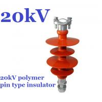 Quality high voltage polymer pin insulator of 11kV 15kV 20kV 22kV 25kV 33kV 36kV pin insulator for sale