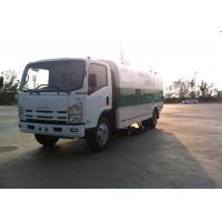 Quality ISUZU 9CBM Road Sweeper Truck 4x2  For Road Cleaning / Coal Factory for sale