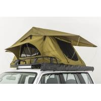 Quality Double Layer Vehicle Top Tent , Truck Parts Jeep Wrangler Roof Rack Tent for sale