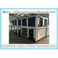 China 100 tons Industrial Air-Cooled Water Chiller with Semi-Hermetic Screw Compressors on sale