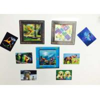 Quality Custom Shaped PP / PET Lenticular 3D Fridge Magnets With Lenticular Printing for sale