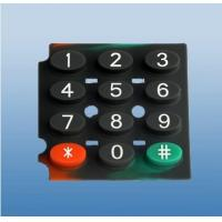 China Silicone Rubber Keypad With Elliptical Shape Button For Electronic Equipment ODM on sale