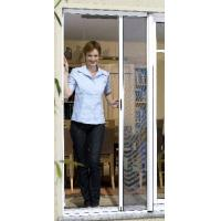Quality Retractable Screen Door Tear Proof Roll Up Bug Screen With REACH SVHC174 for sale