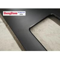 China Strong Chemical Resistance Laboratory Black Epoxy Resin Countertop Matt Surface on sale