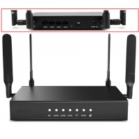 Quality ROHS Industrial Access Point Black Modem 4G 5G WiFi Router 8M ROM for sale