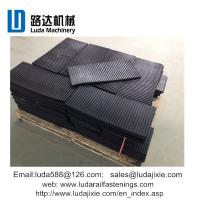 China OEM kinds of railway materials rubber products for rail concrete sleepers on sale