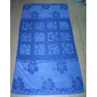 Quality Yarn Dyed Jacquard Beach Towel for sale