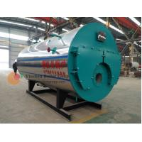 Quality Horizontal Style Gas Fired Water Boiler / 3 Pass Fire Tube Boiler PLC Control System for sale