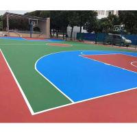 Quality Synthetic Sport Court Flooring , Futsal / Badminton Court Flooring Material for sale
