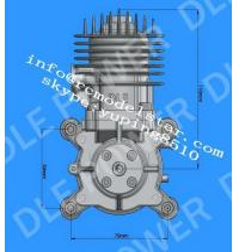 Engine rc plane model ,balsa wood plane model engine, dle 30 motor