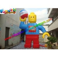 Quality Customzied 6mh Inflatable Man , Inflatable Robert Toy for Advertising for sale