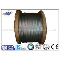 Quality 6*7+FC High Carbon Galvanized Wire Rope 1570-1770MPA Tensile Strength for sale