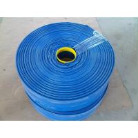 China Wear Resistant 6 Inch PVC Layflat Water Discharge Hose 10bar on sale