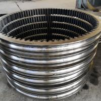 Buy cheap HD1023 excavator slewing ring swing circle bearing (1402*1132*97mm)for Kato from wholesalers