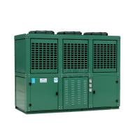 China Six Cylinders 2 Stage Cooler Condensing Unit Reciprocating With Mechanical Expansion Tube on sale