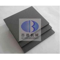 Buy cheap Wear Resistant Silicon Carbide Plate , Ceramic SIC Plate ISO 9001 Approved from wholesalers