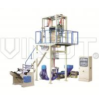 China Pvc Heat Shrinkable Film Making Machine Max. Extrusion 30 - 110 Kg / H on sale