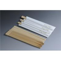 China Odorless Bamboo Chopsticks Restaurant With Logo Printing SGS ISO Certificate on sale