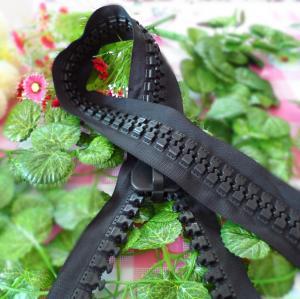 China Long No.30 Plastics Teeth Vislon Zipper/ Resin Zipper /Delrin zipper for Tents on sale
