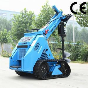 Quality 500kg mini track loader MS500 wheel loader with CE for sale