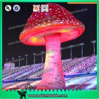 Quality 3.5mH Ligthting Inflatable Mushroom Props Model Oxford Material For Event Decoration for sale