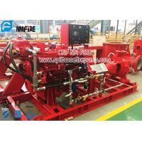 Buy cheap UL / FM Certification NFPA 20 Standard Diesel Engine End Suction Fire Pump Set from wholesalers