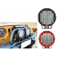 Quality 96W Red Black Housing LED Driving Lights For Offroad And Truck 4x4 Waterproof Round led Work Light for sale