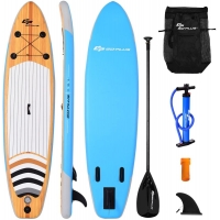 Quality Portable Beginners 265lbs Inflatable Surf SUP Board for sale