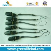 China Plastic Customized Green Expandable Coil Key Holder W/Alligator Clip on sale
