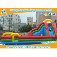 Buy cheap Kids Funland Inflatable Amusement Park With Slide And Climbing Wall To Bounce On product