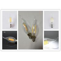 Quality Indoor Lighting Led Filament Lamp With Tail Glass Body Material Ac220 - 240v for sale