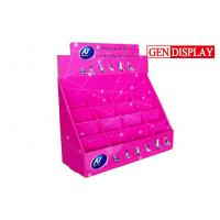 Quality Shoes Counter Display Stands  , POP Cardboard Counter Display With Dividers for sale