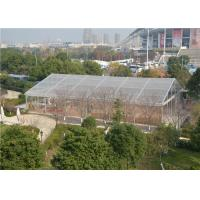 Quality 20m * 40m Transparent Pvc Tent , Large Marquee Wedding Tent  ABS / Glass Wall for sale