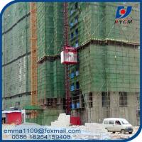 2T Building Hoist Elevator 33m/min Speed with Normal Control Safety Equipment