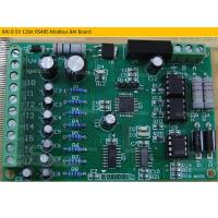 Quality 8AI Board 8AI 4-20mA 12bit RS485 Modbus Current Acquisition optocoupler isolate for sale