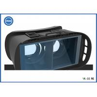 Quality Android / IOS Adapter Video Projection Glasses House Hold 3D Gaming Helmet for sale