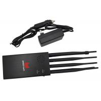 Buy cheap 8 Band Portable High capacity Mobile Phone Signal Jammer Block All 2G 3G 4G from wholesalers
