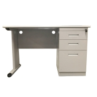 Quality KD Structure School Furniture L1000mm Computer Office Desk for sale