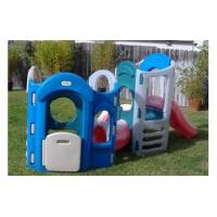 China tropical tunnel water slide with pool+1pcs blower+repair kit on sale