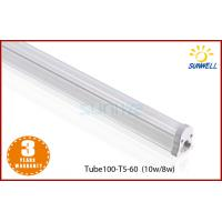 China Aluminum alloy 8w 10w isolated LED T5 Tube 2ft one in unit t5 tube on sale
