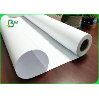 Quality White Paper 20LB Bond Rolls With 2'' Paper Core For HP Length Custom - Made for sale