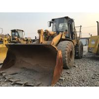 Quality 966G Used Caterpillar Wheel LoaderA/C Cabin 253HP Engine 295L Fuel Capacity for sale