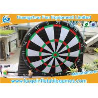 Buy cheap Single Side Commercial Inflatable Dart Board / Dart Games With Plato PVC Tarpaulin product