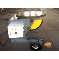 Buy cheap Tilting Rotary Welding Positioner Table With Hand Remote And Foot Pedal Control product