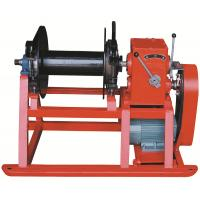 Quality High Speed Drill Rig Parts , Hydraulic electric wireline winch for drilling for sale