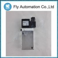 Buy cheap Electromagnetic Actuated Inline Single Pneumatic  Solenoid Valves 1/4