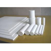 Quality Moulded Or Skived PTFE Sheet , Anti Corrosion Teflon Plastic Sheet For Seal / Gasket for sale