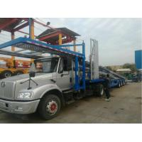 China Vehicle Car Carrier Trailer Auto Transport Truck Double Deck With Ramp on sale